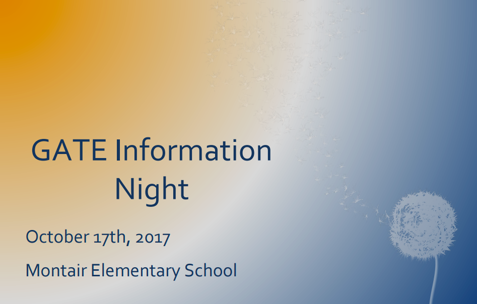 Gate Information Night