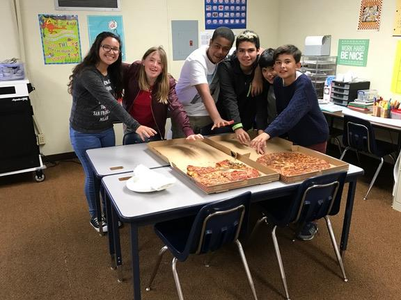Perfect Attendance Pizza Party!