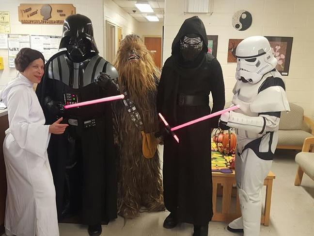 The force is strong at Dr. Martin Luther King Jr. Educational Complex