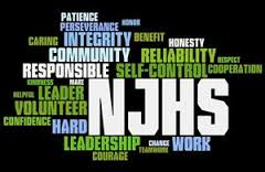 NJHS word cloud