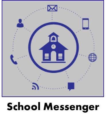School Messenger Program Logo with a link to the School Messenger Software