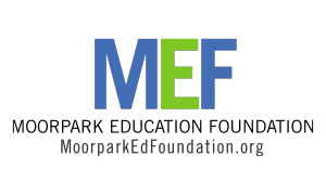 Moorpark Education Foundation logo- clicking the logo will take parents to the Moorpark Education Foundation website