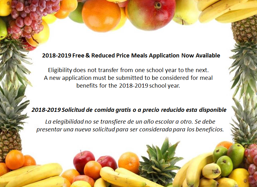 Eligibility for free   reduced lunch does not carry over from year to year