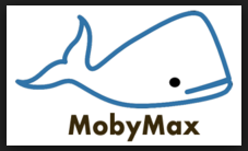 Moby Max software logo- clicking the logo will take students to the MUSD Moby Max login page
