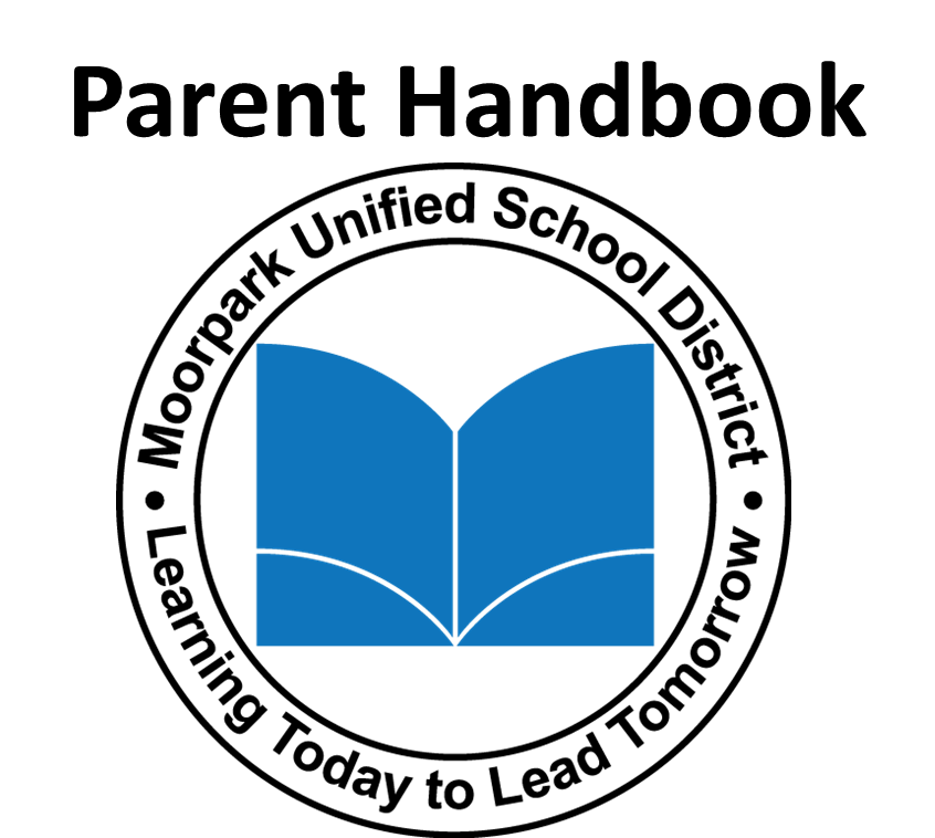 MUSD Parent Handbook Logo- click the English or Spanish links below to get to the appropriate copy of the MUSD Parent Handbook