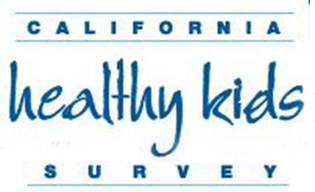 California Healthy Kids survey logo- clicking on the logo will take parents to the website of the California Healthy Kids Survey