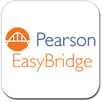 Pearson Easy Bridge logo- clicking the logo will take students to the MUSD Pearson Easy Bridge login portal