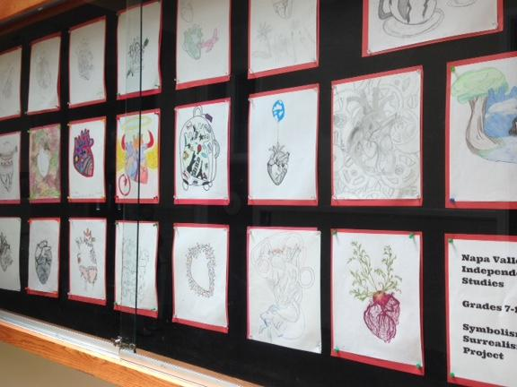 Art Display at District Office