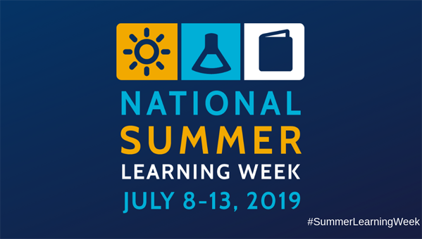 National Summer Learning Week July 8-13 2019