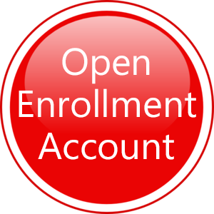 Open Enrollment Account button