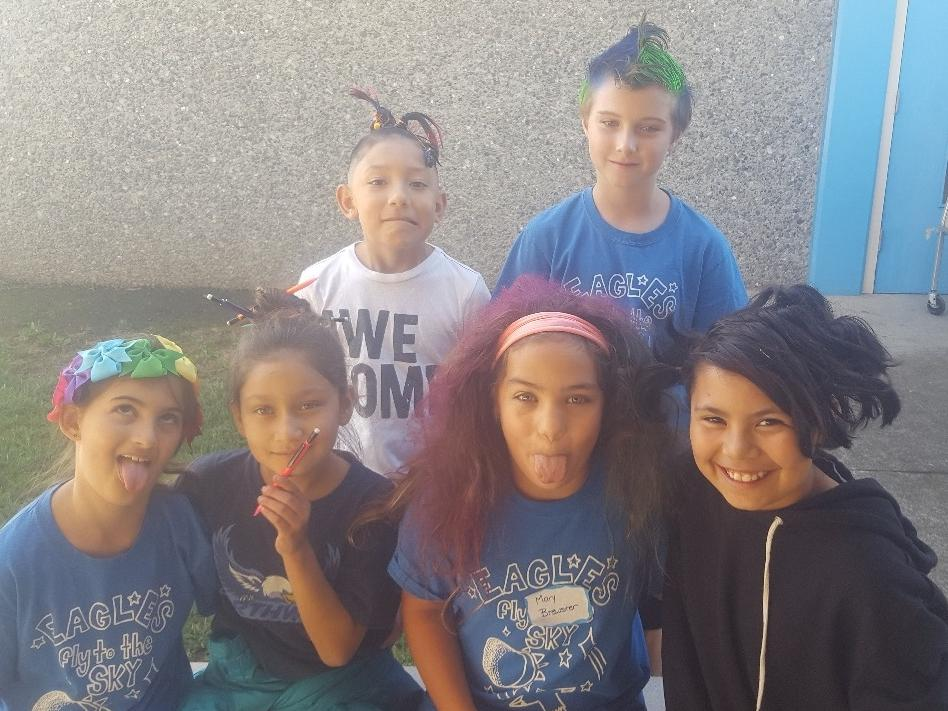 kids for crazy hair day