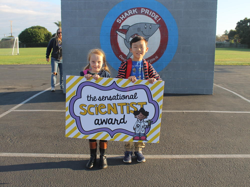 Student who received the Ravenous Reader Award