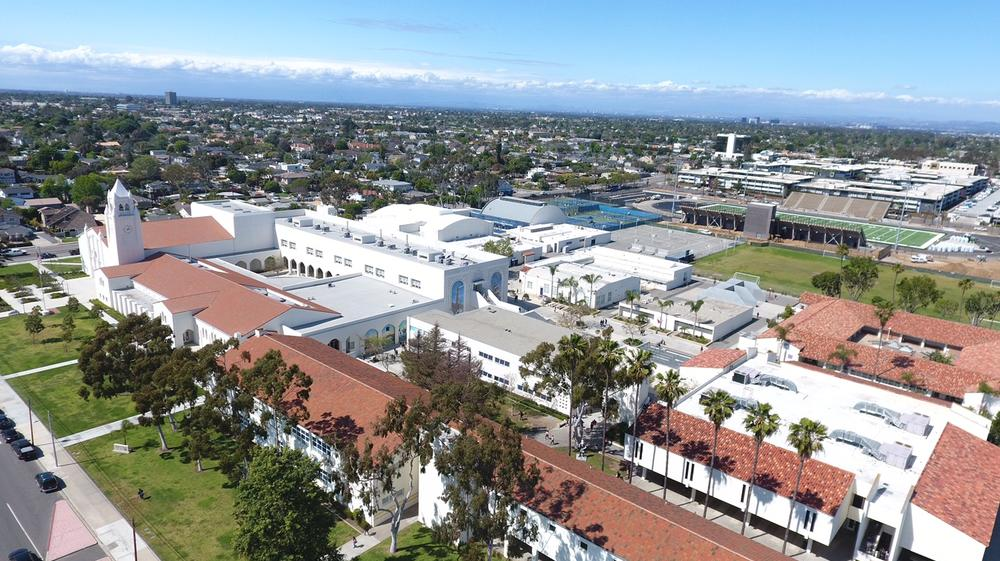 Drone view of nhhs