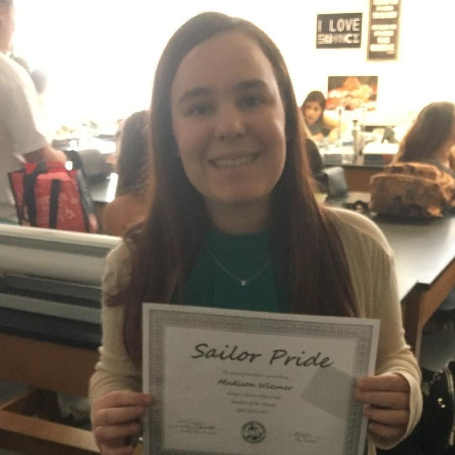 Student of the Month April