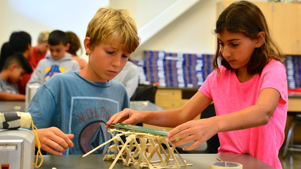 Students Building a Project