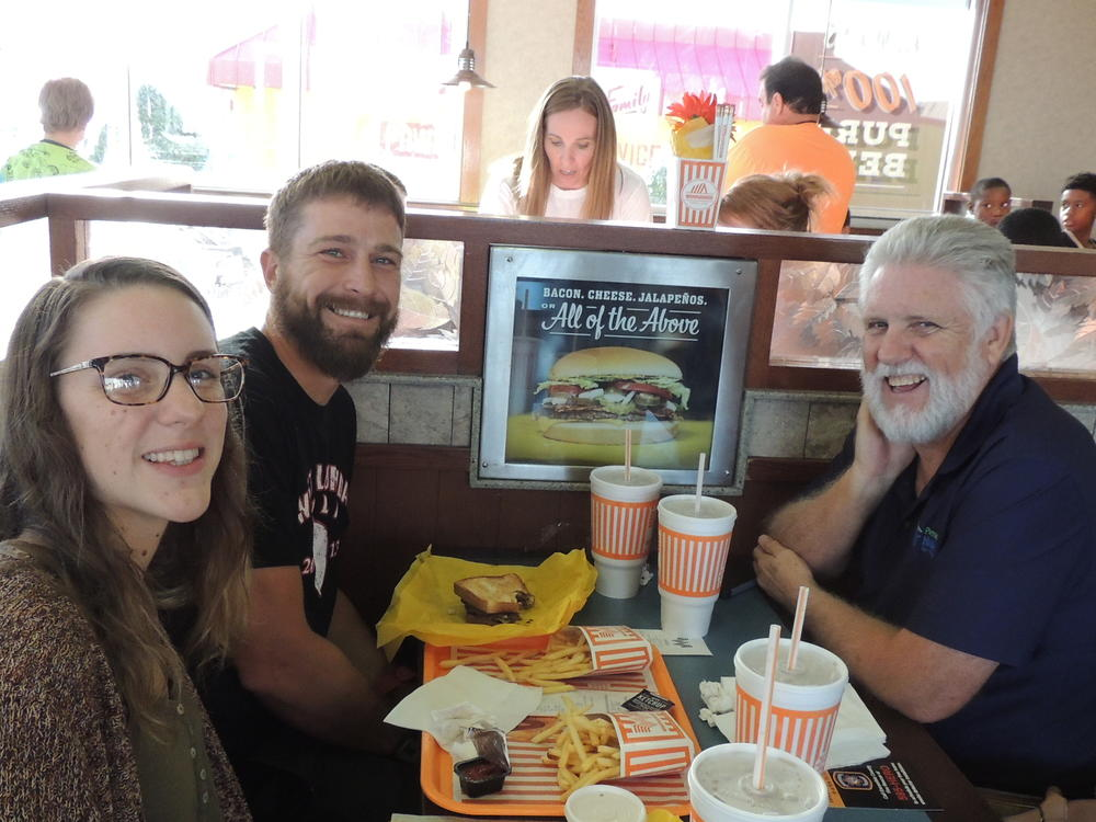 Whataburger night and Muffins with mom 003