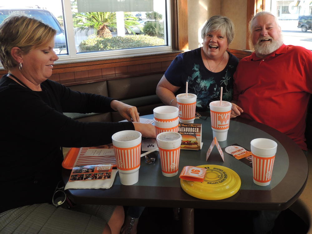 Whataburger night and Muffins with mom 004
