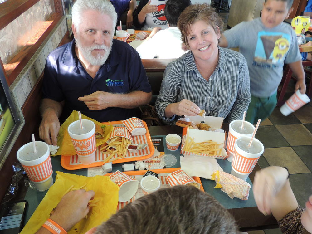 Whataburger night and Muffins with mom 016