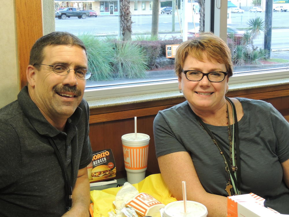 Whataburger night and Muffins with mom 053