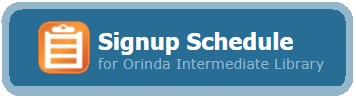Signup Schedule for OIS Library