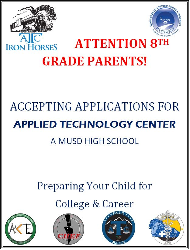 Attention 8th grade parents  Open enrollment  English