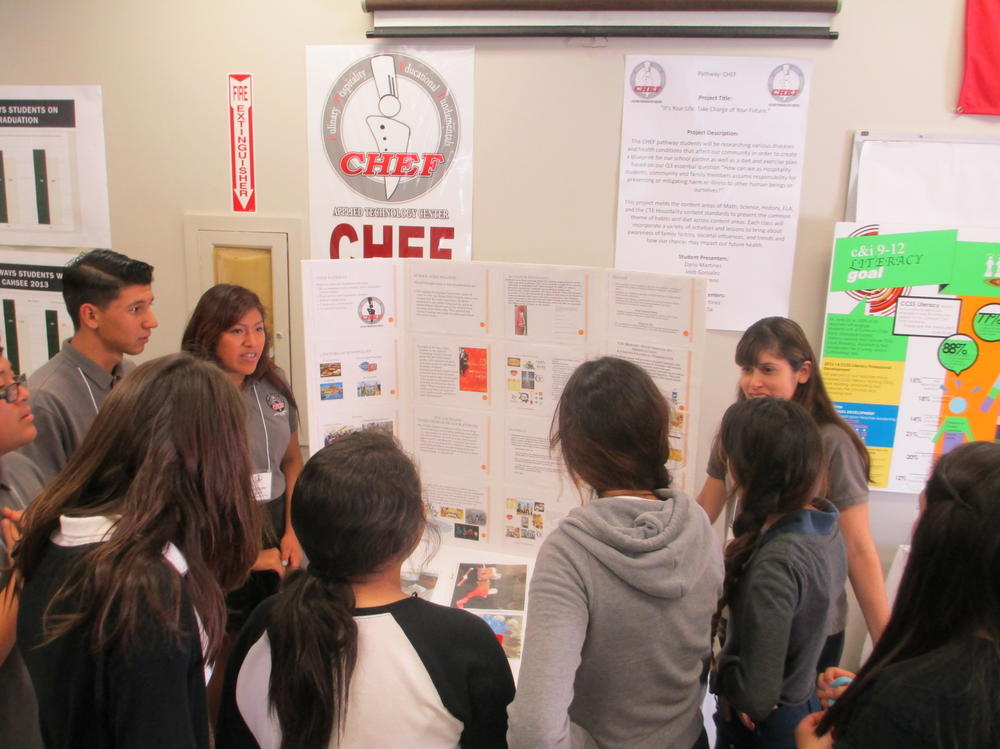 Slideshow of students in their different pathways