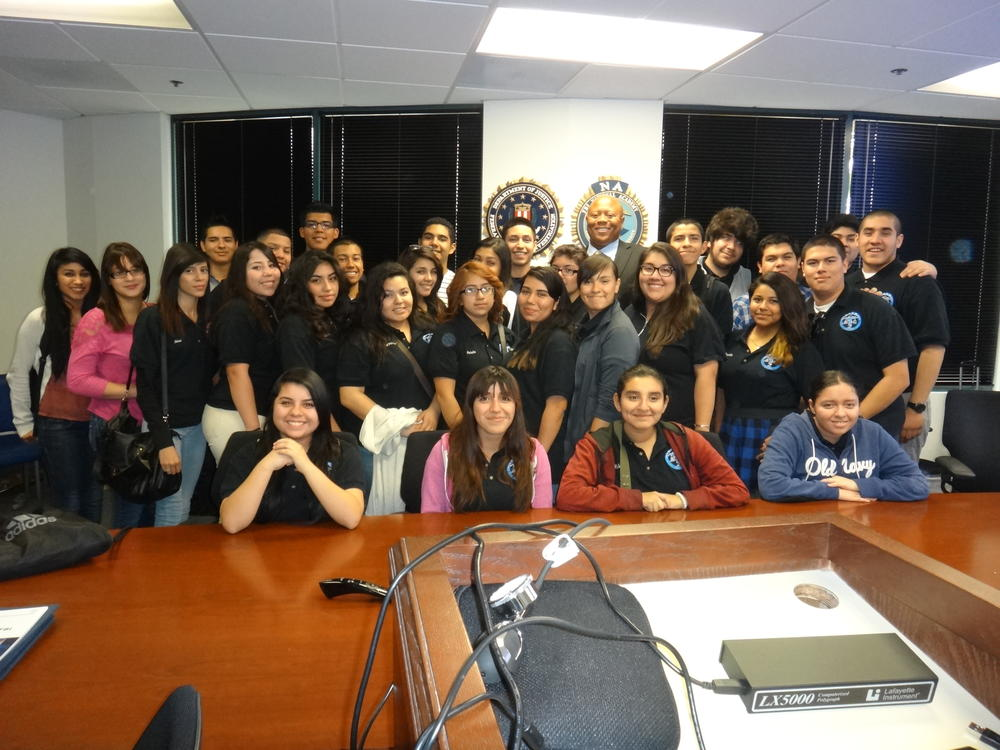 Pals students in West Covina FBI office