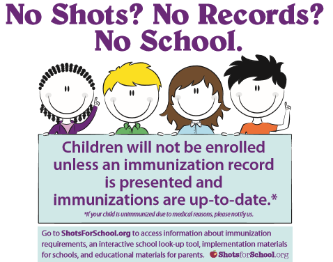 immunizations required