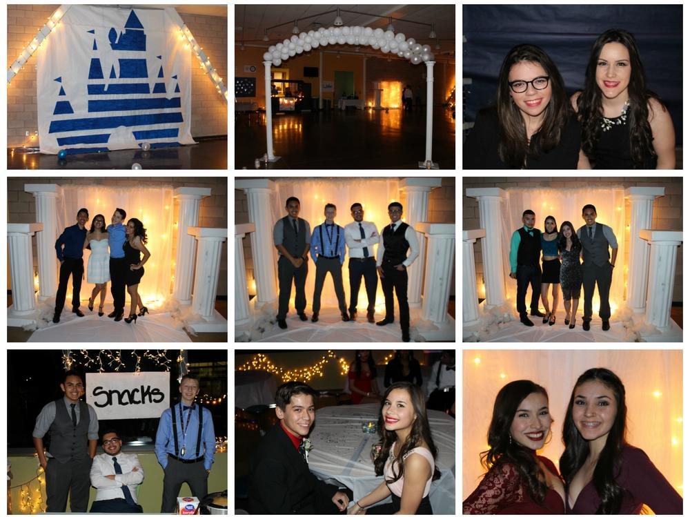 Winter Ball Collage 2