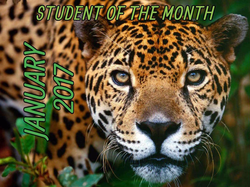 Adriana Ordonez - February Student of the Month