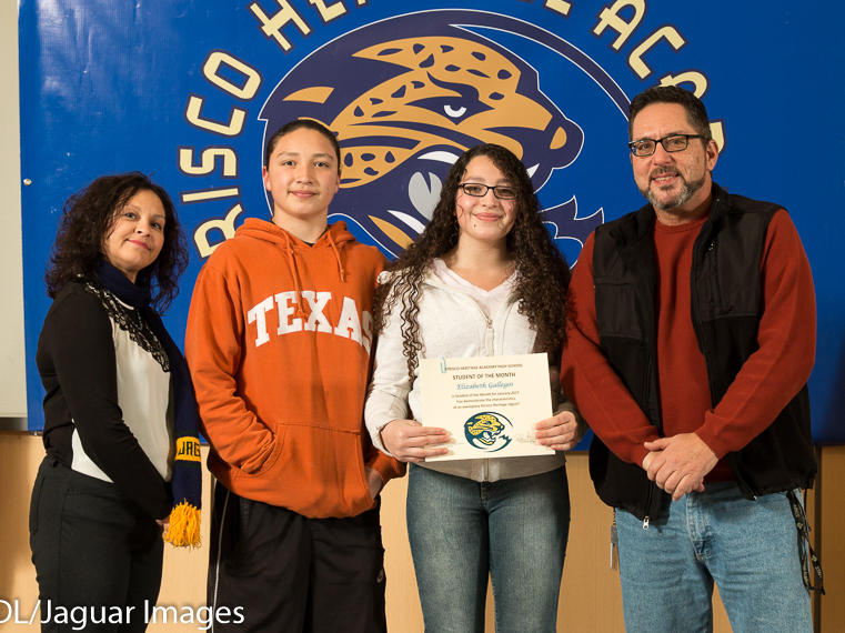 Christopher Gallegos - January Student of the Month