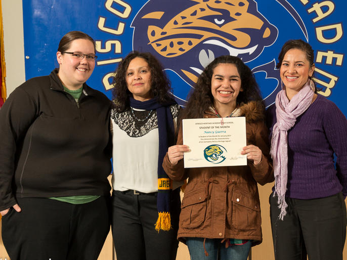 Elizabeth Gallegos - January Student of the Month