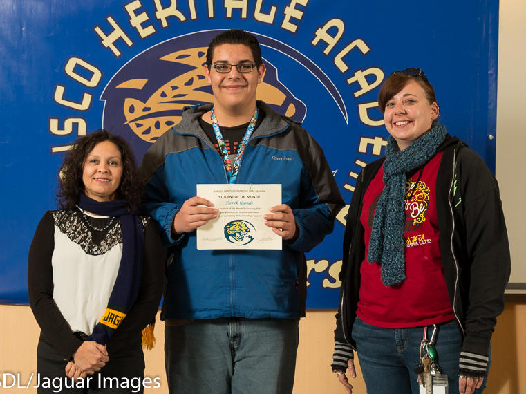 Nancy Guerra - January Student of the Month