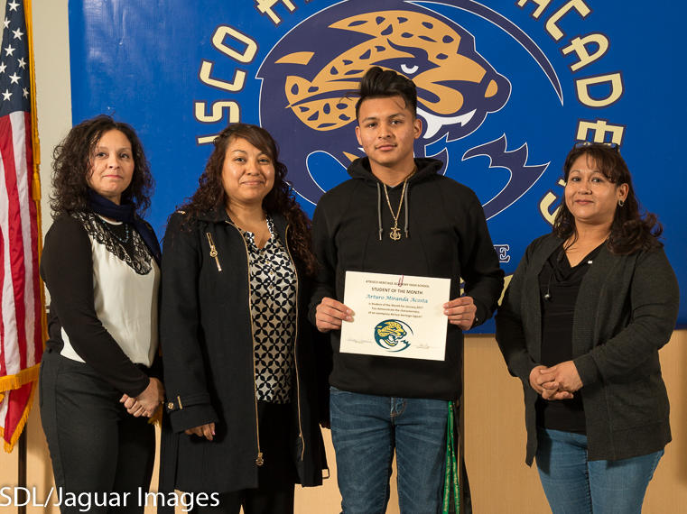 Jasmine Lucero - January Student of the Month