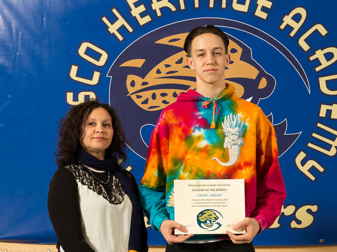 Jerrell Russ - January Student of the Month