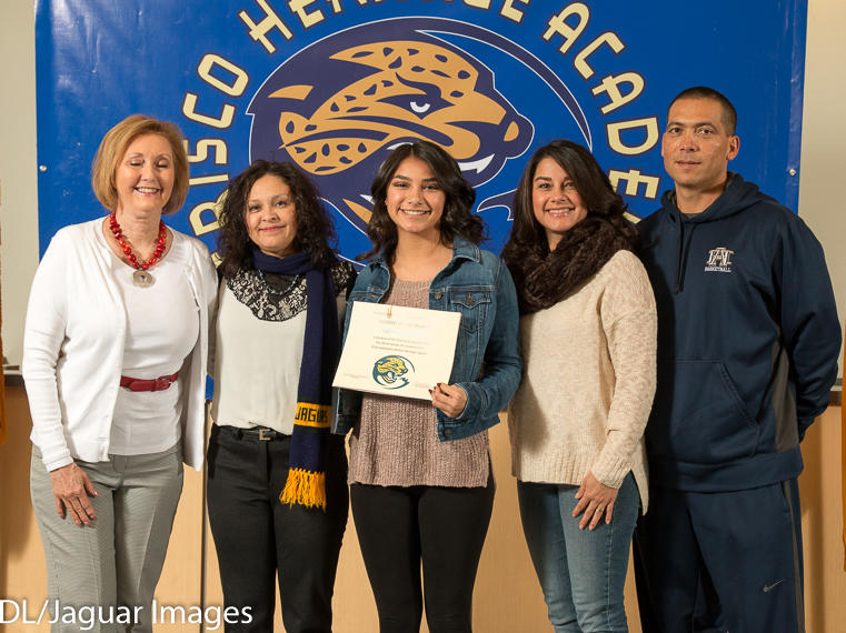 Carlos Salazar - January Student of the Month