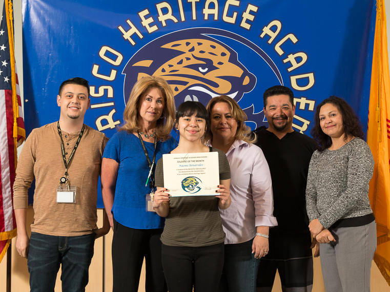 Evelyn Aguilar - February Student of the Month