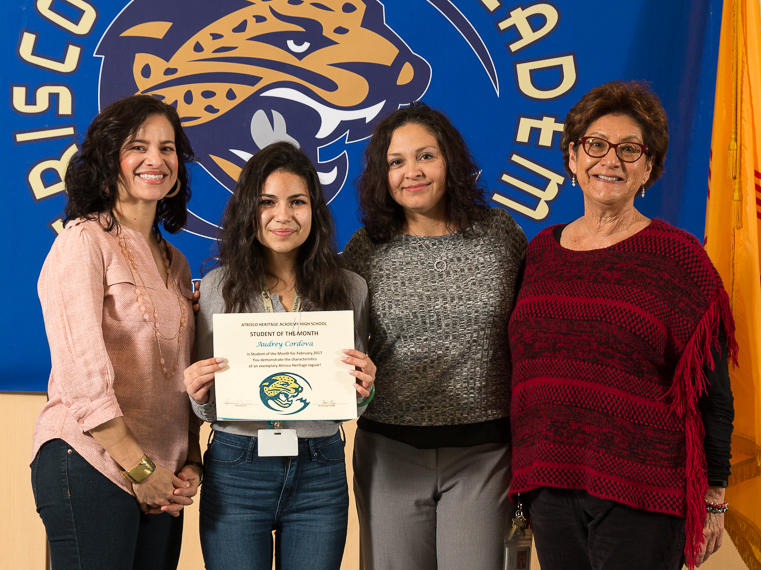 Frida Cano - February Student of the Month