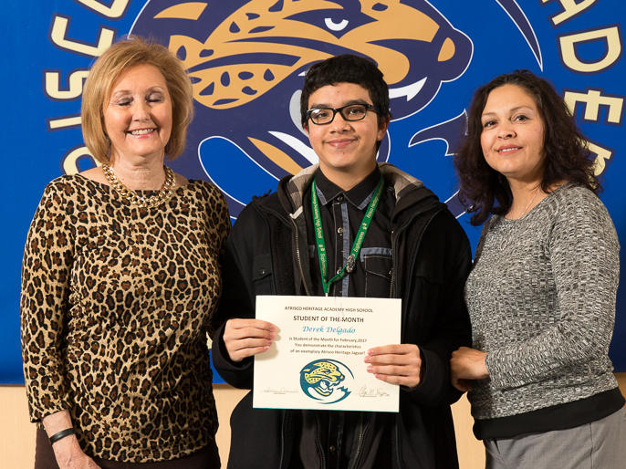 Audrey Cordova - February Student of the Month