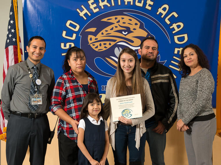 Patricia Hernandez - February Student of the Month