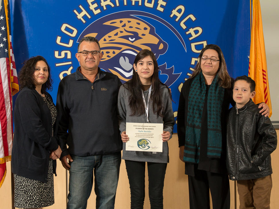 STUDENT OF THE MONTH - AYLIN BUSTILLOS