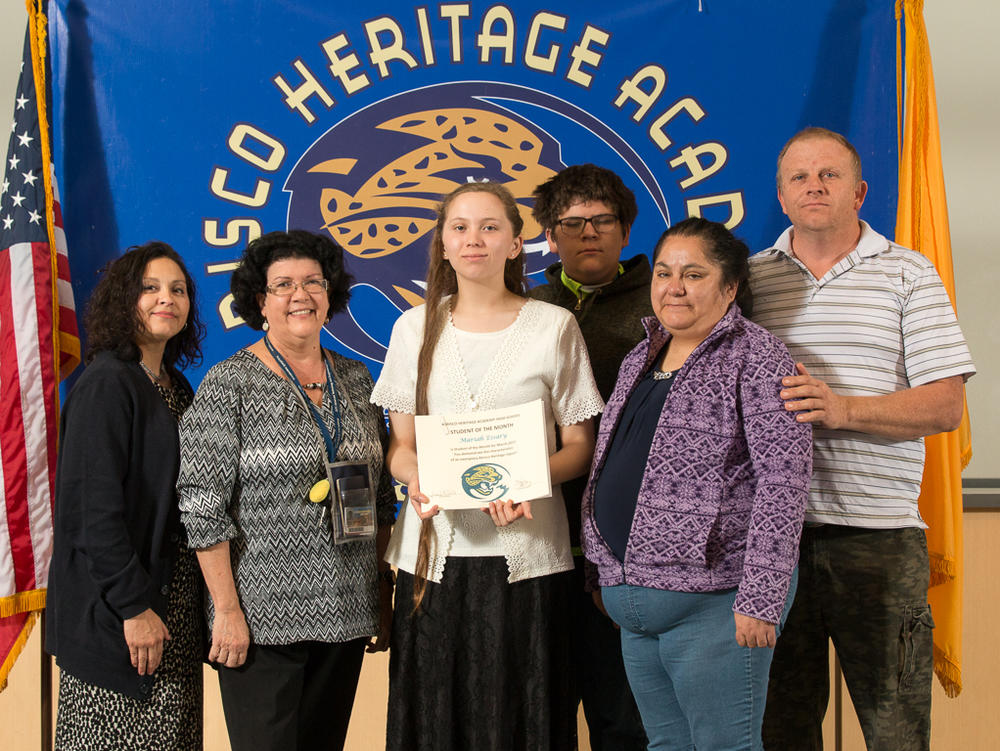 STUDENT OF THE MONTH - GABRIELA DIAZ