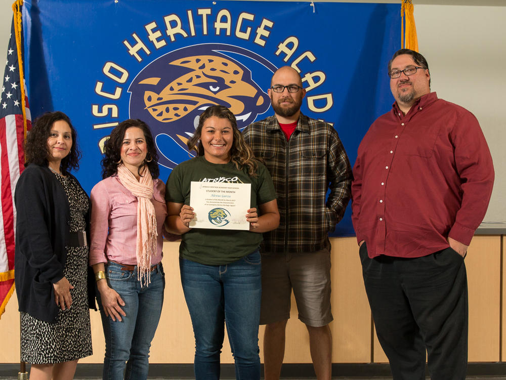STUDENT OF THE MONTH - MARIAH ESSARY