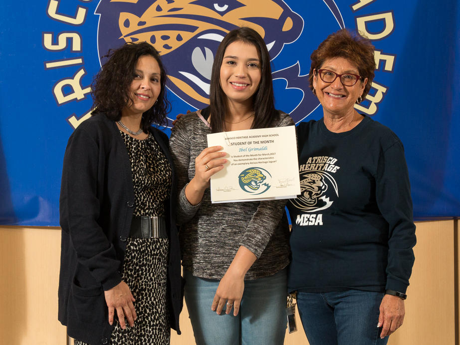 STUDENT OF THE MONTH - NEZHONI GONZALES