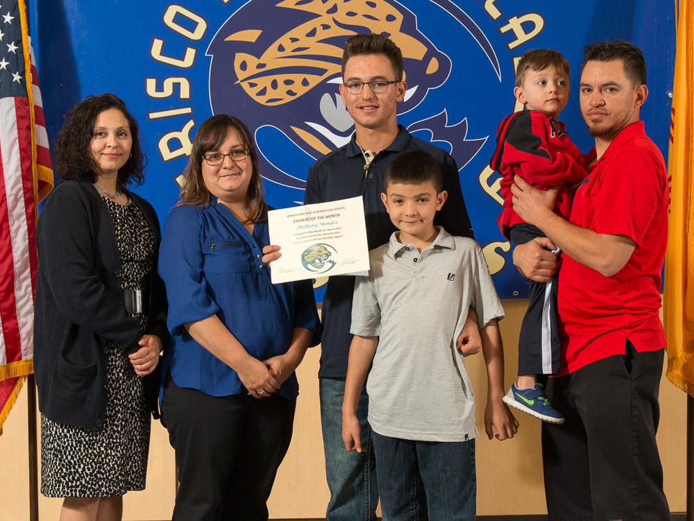 STUDENT OF THE MONTH - ANTHONY MENDEZ