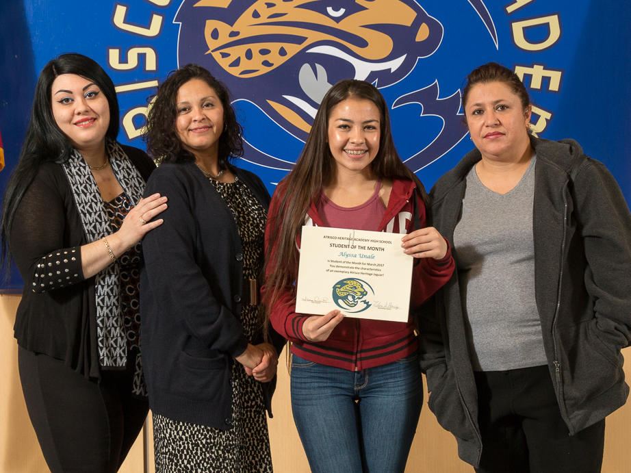 STUDENT OF THE MONTH - MARCH 2017