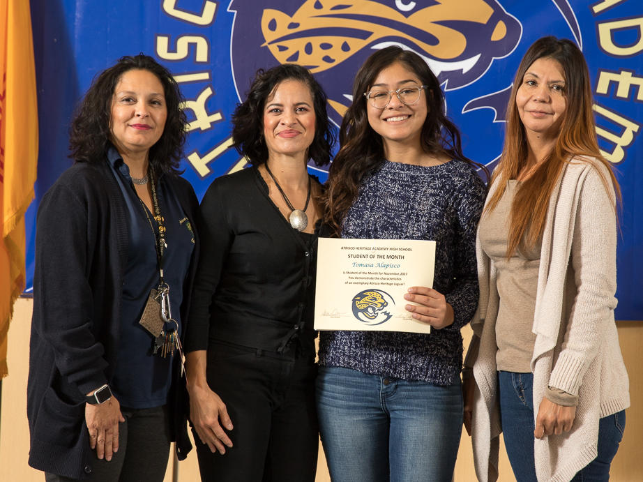 November 2017 Student of the Month - Bianca Acosta