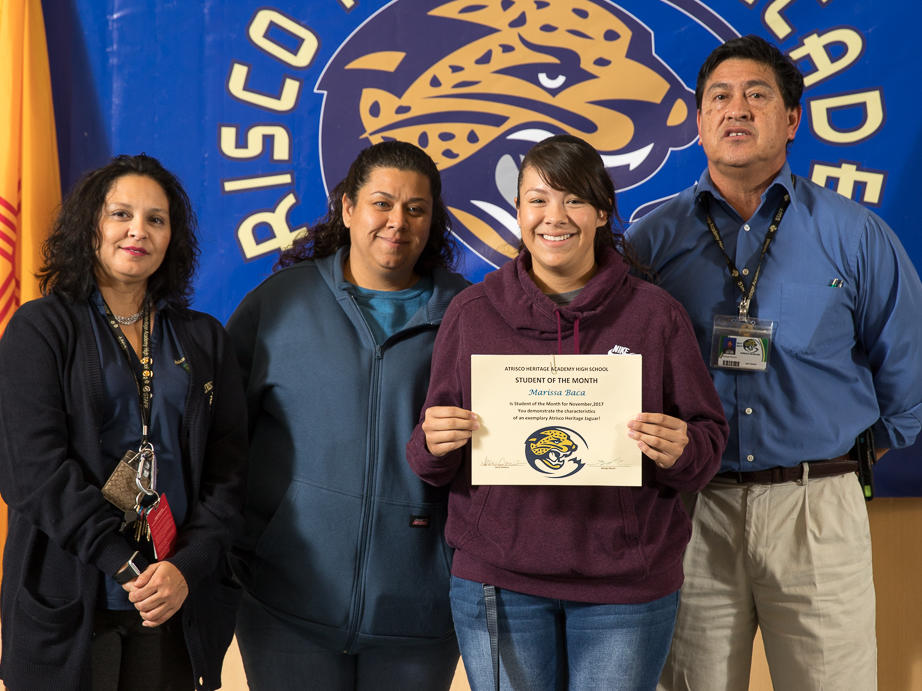 November 2017 Student of the Month - Tomasa Alapisco