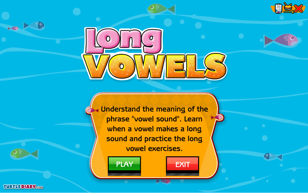 Turtle Diary Long Vowel