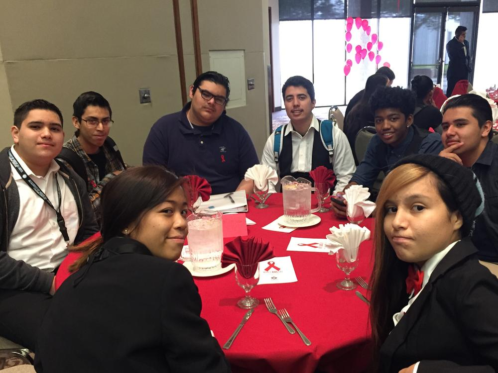 AMA STUDENTS AND STAFF CELEBRATES AND SUPPORT WORLD AIDS DAY